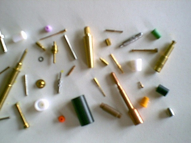 Sample of precision components manufactured #1 = 240 pixels